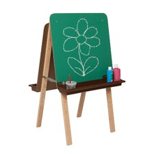Natural Environment Tot Easel with Brown Tray