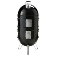 "19.5"" Apollo Charcoal Grill with Water Smoker"