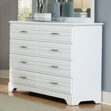 Platinum 8 Drawer Dresser