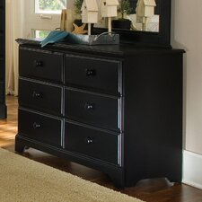 Midnight 6 Drawer Dresser
