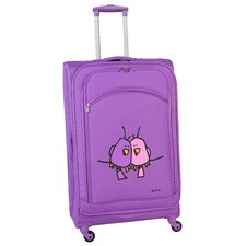 "Big Love Birds 24"" Spinner Suitcase"