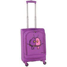 "Big Love Birds 20"" Spinner Suitcase"