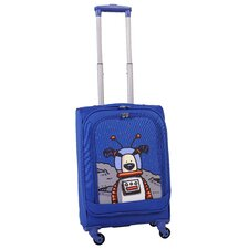 "Moon Dog 20"" Spinner Suitcase"