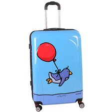 "Flying Penguin 28"" Hardsided Spinner Suitcase"