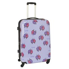 "Multi Love Birds 29"" Hardsided Spinner Suitcase"