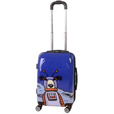 "Moon Dog 20"" Hardsided Spinner Suitcase"