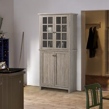 2 Door Glass Storage Cabinet