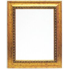 Beveled Glass Gold Framed Wall Mirror