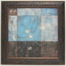 Soft Abstract I Framed Painting Print
