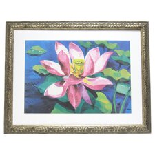 Premier Water Lilly II Framed Painting Print