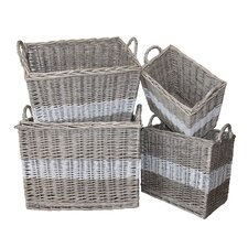 Swedish 4 Piece Storage Basket Set