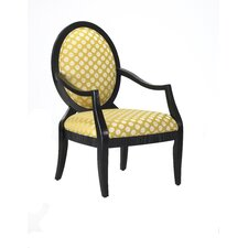 Hannah Fabric Arm Chair