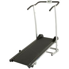190 Manual Treadmill with 2 Level Incline and Twin Flywheels
