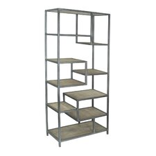 """Bodhan Tall 82"""" Accent Shelves"""
