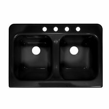 "Deluxe 34"" x 23"" Farmhouse Kitchen Sink"