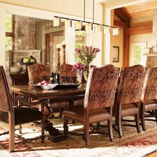 Fieldale Lodge 11 Piece Dining Set