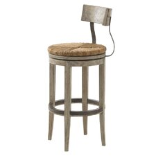 "Twilight Bay 30"" Swivel Bar Stool with Cushion"