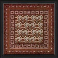 Tile 2 Framed Graphic Art