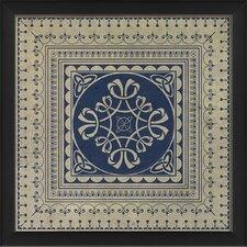 Tile 7 Framed Graphic Art