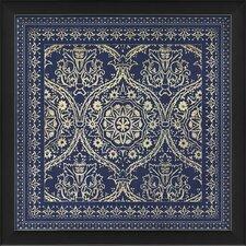 Tile 1 Framed Graphic Art