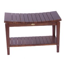Sojourn Asia Furniture Contemporary Teak Asia Shower Bench