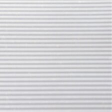 6' x 1' White Ribbed Shelf Liner