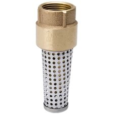 "1.5 "" Brass Low Lead Foot Valve"