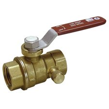"1"" Low Lead Ball Valve With Auto Drain"