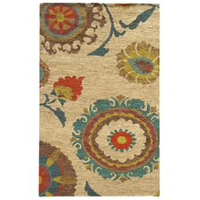 Tommy Bahama Valencia Beige / Multi Floral Rug