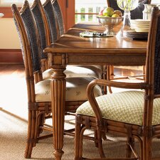 Island Estate Mangrove Woven Back Side Chair (Set of 2)