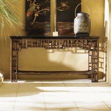 Royal Kahala Mystic Leather Console Table