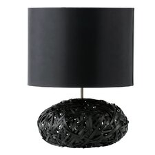 "Charlie 22"" H Table Lamp with Drum Shade"