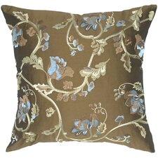 Rose Impression Taffeta Throw Pillow