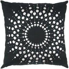 Lazer Cutwork Dupion Throw Pillow