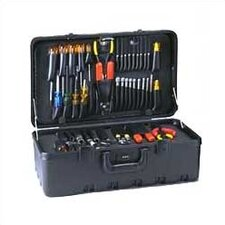 Stream-lined Tool Case with Built-in Cart
