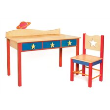 Star Rocket Children's 2 Piece Table and Chair Set