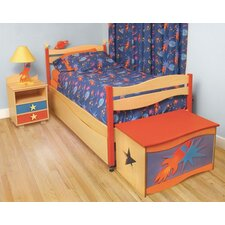 Star Rocket Loft/Panel Customizable Bedroom Set