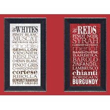The Reds Framed Textual Art