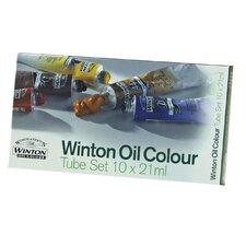Winton Oil Color Paints Basic Tube Set