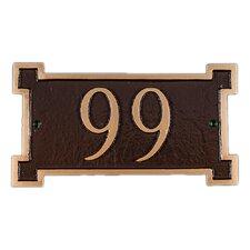 Petite New Yorker Address Plaque