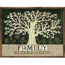 Magnet Art Print Family First and Most Framed Wall Art