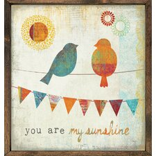 Magnet Art Print You are My Sunshine Framed Wall Art