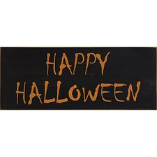 Halloween S.D. Sign Textual Art