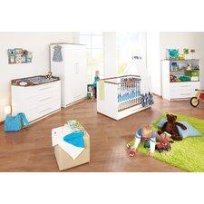 """3-tlg. Kinderzimmer Set """"Tuula"""" in Weiß"""