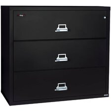 Fireproof 3-Drawer Lateral File