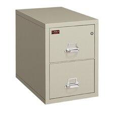 Fireproof 2-Drawer Vertical Letter File
