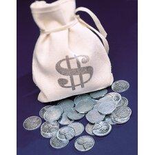 1943 Lincoln Steel Pennies Bankers Bag