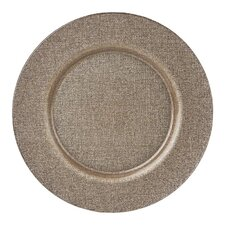 """13"""" Lino Glass Charger Plate"""