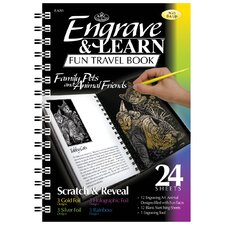 Engrave Learn Family Pets and Animal Friends Fun Travel Book