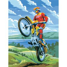 Painting by Numbers Junior Small Motocross Set (Set of 3)